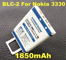 New Arrivals 1850mAh BLC-2 / BLC2 Use For Nokia 3310 3330 3315 3350 3510 6650 6800 3550 3410 3510 5510 3530 3335 3686 3685 3589