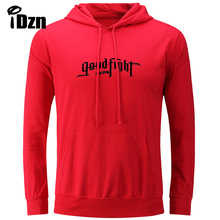 iDzn Women's Hoodies Be the Good Fight Music Enjoy Your Life The Good Life Sent to Be The Good News I Love You Sweatshirts Tops(China)