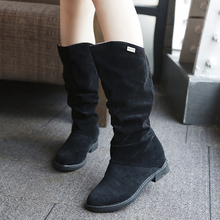 Lady spring of 2017 increased single boot new female boots  cheap shoes CAN SEND OUT DHL !!