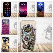 Soft Silicone Phone Back Case for fundas Samsung Galaxy J1 Ace J110F J110H Phone Cases TPU Cover for Samsung J1 Ace 3D Skin Bag(China)