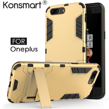 Full Cover Case for Oneplus 5 Case Phone Case Back Cover for Oneplus 5 Fundas Shockproof Protective Shield Stand Phone Bag(China)