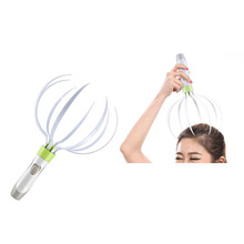 New Multifunction 3 In 1 Electric Vibrating Head/Neck Massage Release Scalp Massager Heath Care Gift