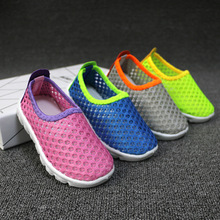 J Ghee 2016 Summer Fashion Kids Shoes Cut-outs Air Mesh Breathable Shoes For Boys Girls Children Sneakers Baby Boy Girl Sandals