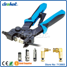 Waterproof F RCA BNC RG59 RG6 Coax Crimper(China)