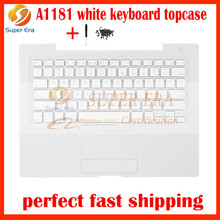 99% NEW US USA small enter keyboard topcase For macbook A1181 Top Case+ touchpad +Keyboard USA US w/ keyboard screw screw driver