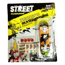 2015 Alloy Stand FingerBoard Mini Finger boards With Retail Box Skate trucks Finger Skateboard for Kid Toys Children Gift(China)