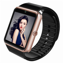 Bluetooth Smart Watch Support SIM TF Card Wristwatch for Android and IOS Cellphone Camera BT Call Dialer Reminder GT08 pk DZ09