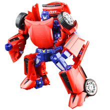 Deformation toys king kong 4 searchlight barricade team pursuing horsemen of autobots to adjust car model of the robot
