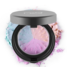 Makeup 3 Colors Powder Bare Mineral Face Powder Skin Finish Studio Fix Longlasting Loose Powder with Puff & Mirror Make Up