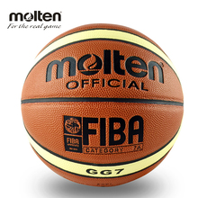Molten Basketball Ball GG7 Size 7 PU Leather Basket Ball For Indoor Homme Basketball Training Free With Ball Net+Needlle