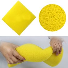 50x50x2cm Yellow Biological Cotton Filter Foam Pond Aquarium Fish Tank Sponge Pad Small Holes(China)