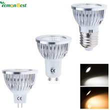LemonBest COB 6W 9W 12W E27 MR16 GU10 LED Bulb Light Warm/ Cold White Spotlight For Home Decorate / 12V MR16 has no dimmable