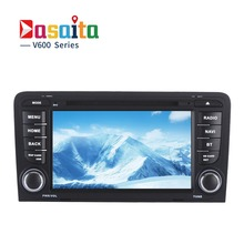 "Dasaita 7"" Android 6.0 Car DVD Player for Audi A3 Audi S3 2003-2013 with Octa Core 2GB Ram Auto Radio Multimedia GPS NAVI 4G LTE(China)"