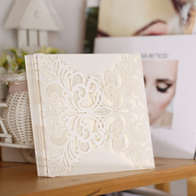 20Pcs Delicate Carved Butterlies Romantic Wedding Party Invitation Card Envelope Invitations for Wedding/Business/Party/Birthday