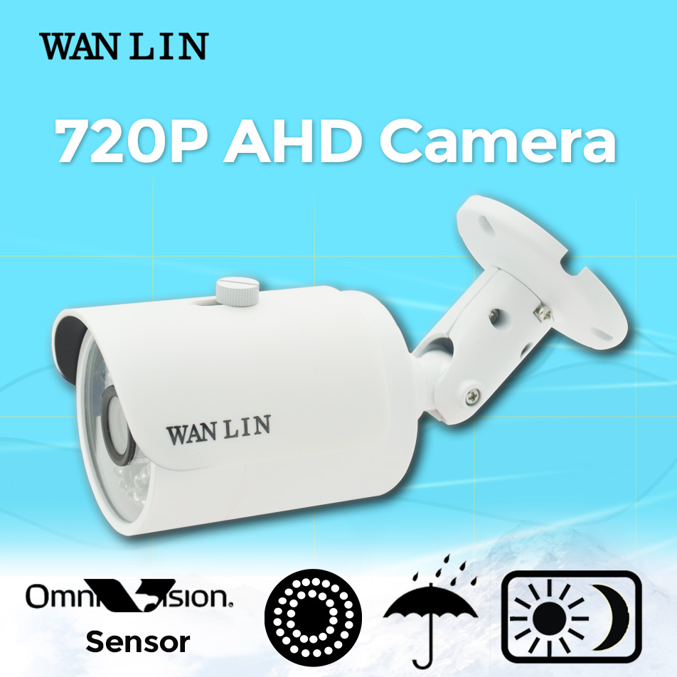 WAN LIN 1.0MP 720P AHD CCTV Camera Video Surveillance Camera 36pcs IR LED OV9732 Sensor Outdoor Waterproof Bullet Camera<br><br>Aliexpress