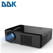 PRS200 Projector 2400 Lumens LED Projector Support 1080P Dual HDMI Education Multimedia Player for Home Cinema Black