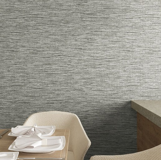 Classic Gray Non-woven Fabric Wall Paper Roll papel de parede para sala  for simple walls <br>