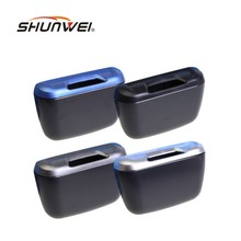Newest Fashion Mini Car Auto Rubbish Dustbin/Trash Can Garbage Dust Case Box/Car Storage Case/Car Trash Bin Car Accessories