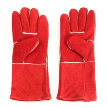NEW 15.7'' Heat Resistant Melting Furnace Gloves Fire High Temperature Protection XL Workplace Safety(China)