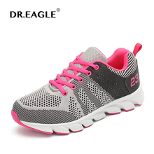 DR.EAGLE 2017 Women Running shoes woman Cushion Breathable Light Weight Athletic shoes sport sneakers summer sports shoes