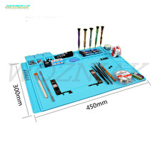 Wozniak Magnetic Maintenance pad High temperature Motherboard screw working table Anti high temperature Anticorrosion Table mat