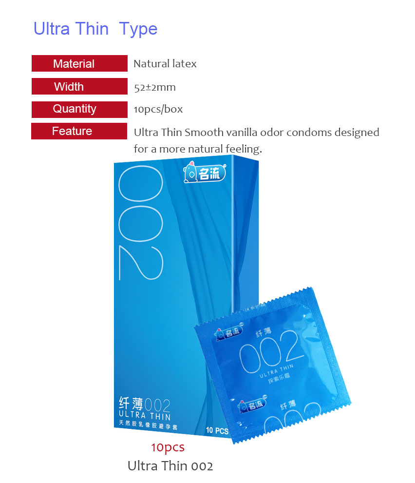 MingLiu Six In Sex 48PCS amazing condoms value high quality condoms for horny men women adult sex toy 6