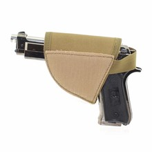 Universal Holster Gun Safe Hook & Loop Hook Pistol Holster Right Hand Hook & Loop Gun Holster Tan
