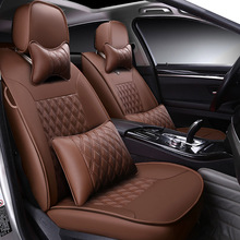 Custom made/ Leather car seat cover For Buick Encore Envision Enclave Regal Lacrosse Park Avenue 2015 2014 accessories styling
