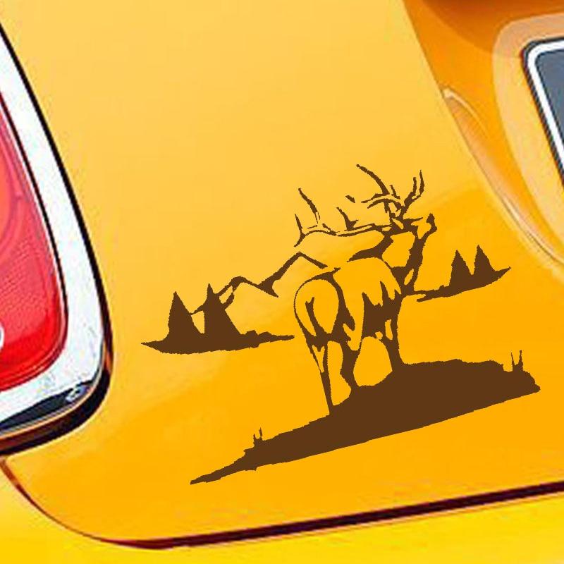 Window Sticker Car RV Truck Skull Hunting Outdoor Vinyl Decal Skull Head