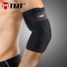 TMT Medium cotton&Lycra&OK cloth Absorb Sweat Elastic Elbow brace Sleeve support protector elbow pain Sports Tennis basketball