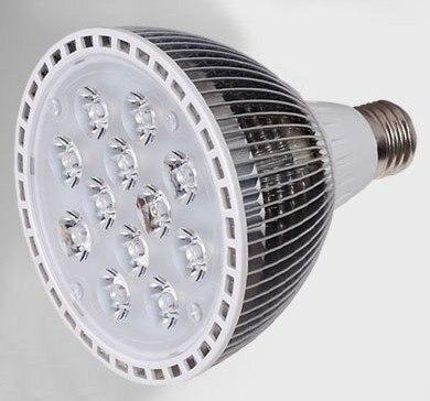 [1pcs/lot] 12W Par38 AC85-265V E27 LED Bulb Lamp Lighting White/Warm White Spotlight For Home Free Shipping<br><br>Aliexpress