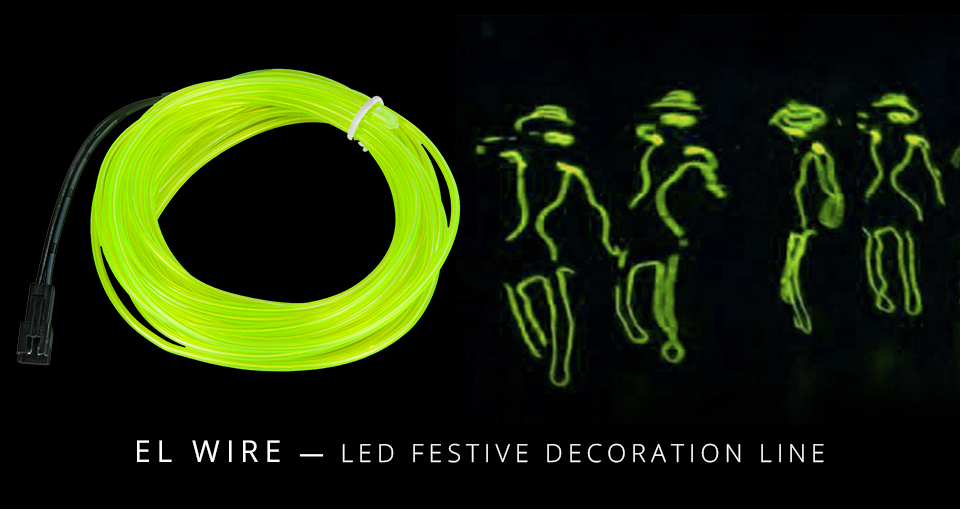 1m 2m 3m 4m 5m Neon Light EL Wire  (1)