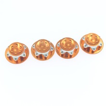 10 Sets 4pcs/Set Aluminium Wheel Hub Cover Antidust Cover 17mm HEX Nut Dust Proof Drive Adapter For RC 1/8  Model Car Baja