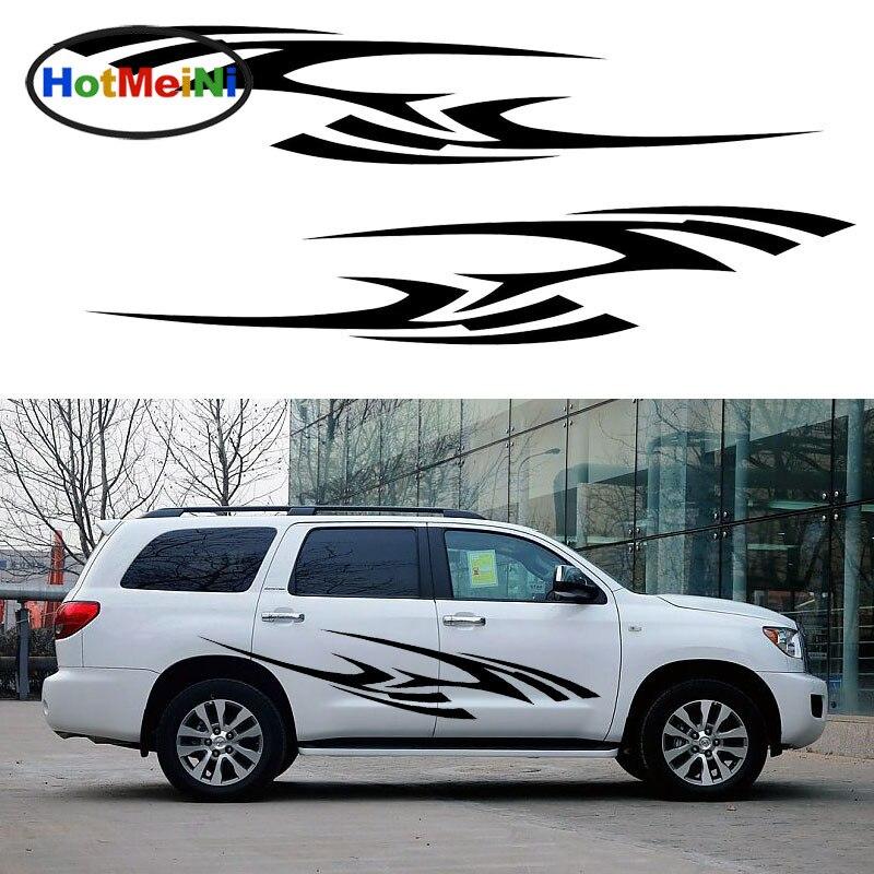 HotMeiNi 2X Personalized African Wildlife Zebra Stripes Decorative Art of Car Sticker Camper Van Car Styling Vinyl Decal 9 Color<br>