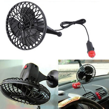 New Arrival 4 Inch 12V Powered Mini Car Truck Vehicle Cooling Air Fan with Cigarette Lighter Socket