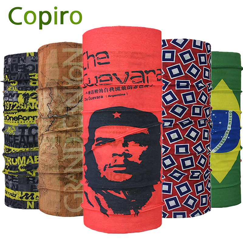 Copiro Women Breathable Multifunctional Headbands Men Velo Rading Cycling Scarf Headwear Bicycle Bandanas Deportivas