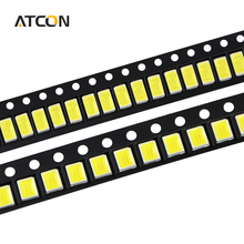 100Pcs 100% Original Epistar SMD 5730 / 2835 Chip LED lamp 40-55 LM LEDs Diode light For LED Strip Spotlight, indoor bulb