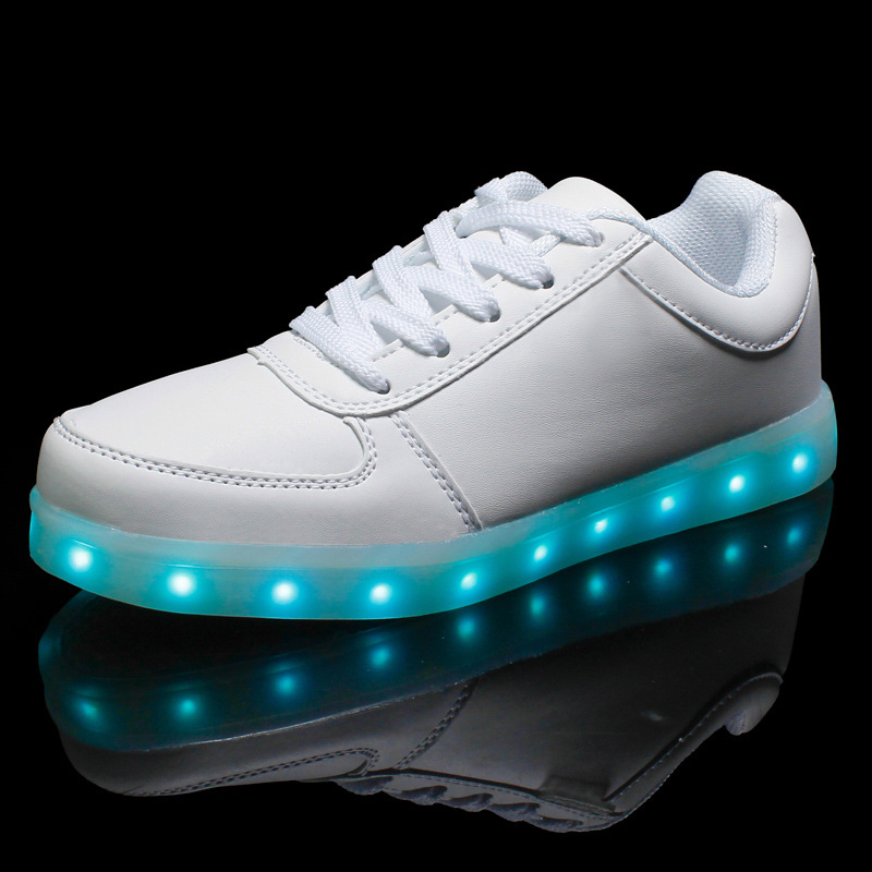 Glowing Shoes For Women Light Up Ladies Led Shoes Comfortable Girls Luminous Flats Zapatillas Deportivas Students Party shoes<br><br>Aliexpress