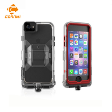 CORNMI Waterproof Phone Case For iPhone 7 8 8G 7G 7S 4.7inch Full Coverage Protective Cover Stand Holder PC TPE Silicone(China)