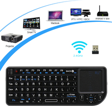Rii mini V3 k01 2.4Ghz Wireless Keyboard Touchpad Backlit LED Laser Pointer Combo PC Teclado for Andorid TV Box