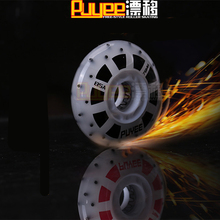 8 Pcs/lot 85A Fire Stone LED Flash Inline Skates Firestone Wheel with Magnetic Core, Red and White Light 72mm 76mm 80mm Roller