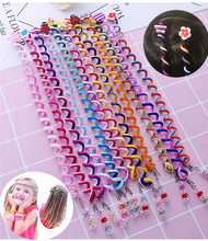 Beauty 6Pcs/Set Girl Mom Curler Hair Braid Hair Sticker Baby Decor Girl's Hair Accesories Women's hair accessories(China)