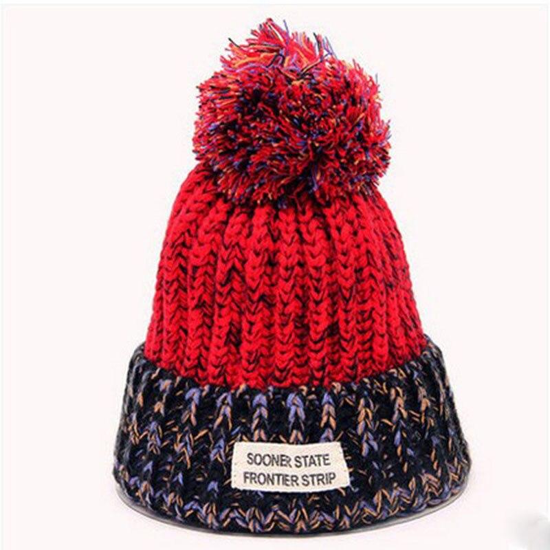 2016 New Novelty Cap Winter Hats for Women Beanies Knitted Hat Adult 5 Color Beard Fur Pom Pom Tuque Femme Balaclava War BonnetÎäåæäà è àêñåññóàðû<br><br><br>Aliexpress
