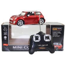 Licensed 1/24 RC Car Model For Mini Cooper Remote Control Radio Control Racing Car Kids Toys For Children Christmas Gifts(China)