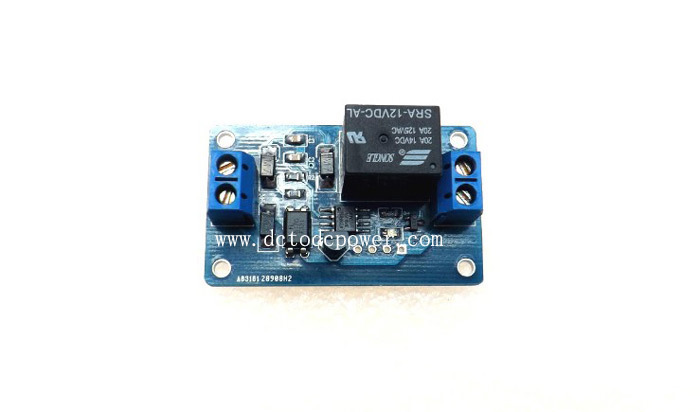 Secondary prevention device restart ACC No standby power consumption 12v relay module<br><br>Aliexpress