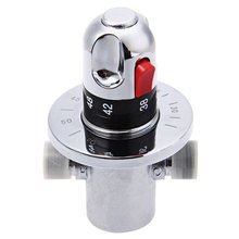 High Quality Thermostatic Mixer Pipe Thermostat Valve Temperature Solar Water Heater For Wash Basin Bathroom