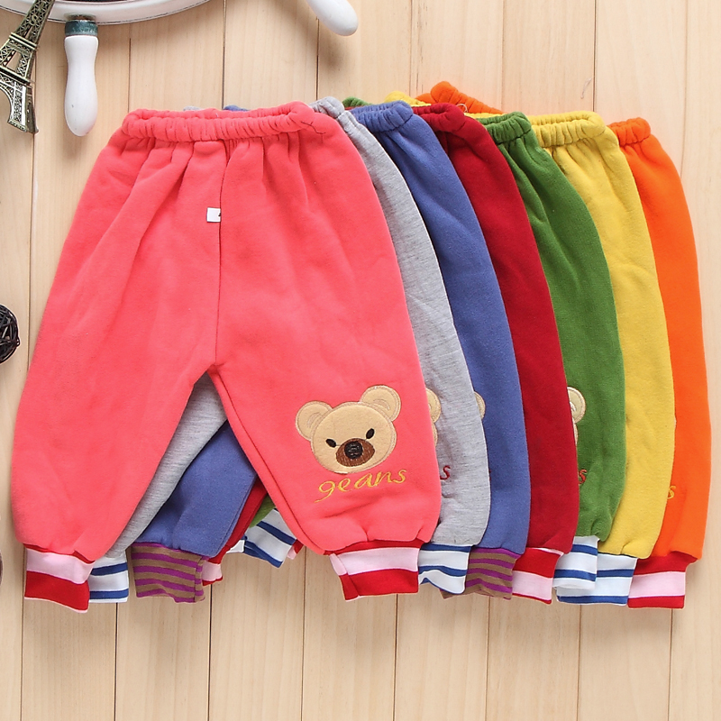 Hot Sale New Children's Winter Boys Girls Pants Velvet Leggings Children Trousers Cashmere Warm With velvet Pants boy pants(China)