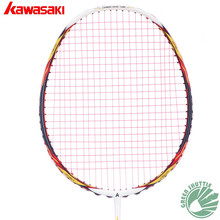 2017 New Genuine Kawasaki Full Carbon Navigator380 4D Focus System And  New Half-star Badminton Racket  With Free Gift
