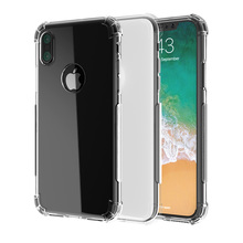 Silicone Case For Iphone X 7 8 Plus 6 6S 5S 5 Phone Bag Case Transparent Girls Shockproof Clear Back Cover Coque For Iphone 7(China)