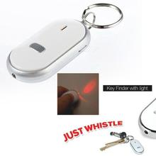 LED Light Torch Remote Sound Control Lost Key Finder Locator Keychain Keyring A609